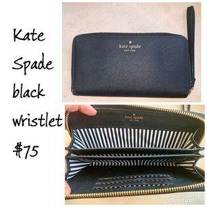 Kate Spade Wristlet Black